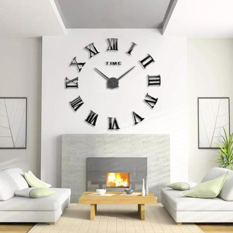 New 3d Best Home Decoration Diy Wall Clock Unique Acrylic Number Stickers Self Adhesive Home Decor Modern Wall Clocks Y200109 Unique Wall Clocks Large Unique Wall Clocks Online From Qiansuning888 27 68 Dhgate Com