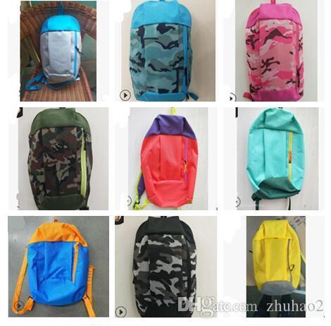 19 Colors Outdoor Sports Backpack Leisure Women Summer Tourist Children School Shoulder Backpack Portable Sport Outdoor Bags #SJ02