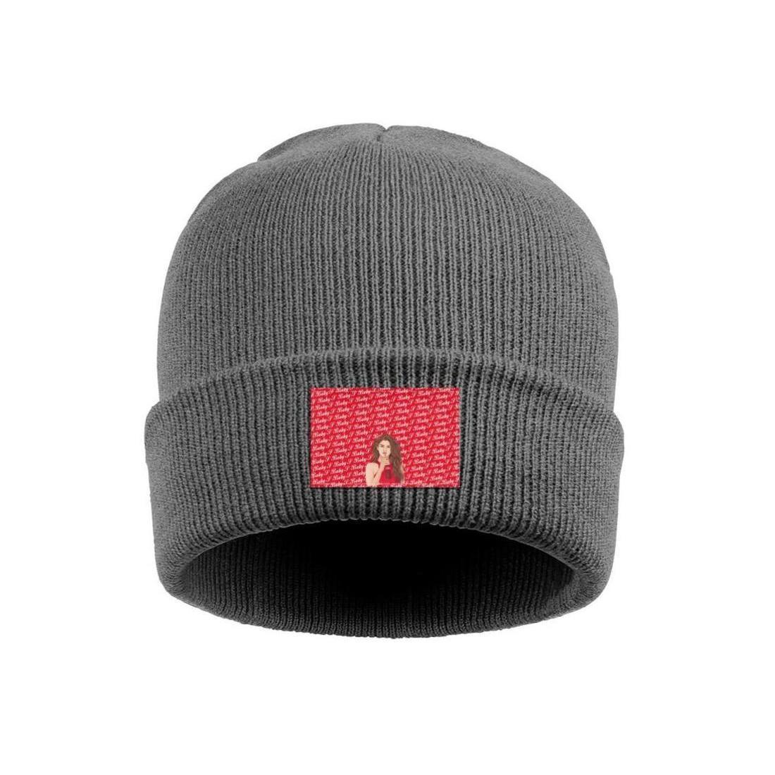 Logo Revival S için Moda Selena Gomez 04 Manşet kızak Beanie Kafatası Şapka Sokak Dans şey İlkbahar Partisi 2018 logosu dinle