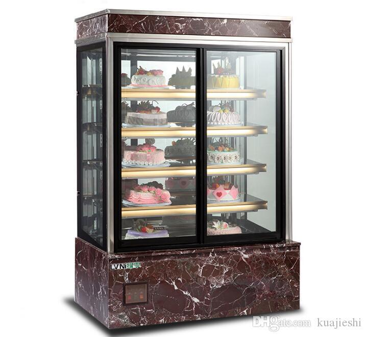 Kek dolabı buzdolabında vitrin Avrupa kabine ticari taze Snack gıda fabrika ekipmanları meyve ve sebze işleme