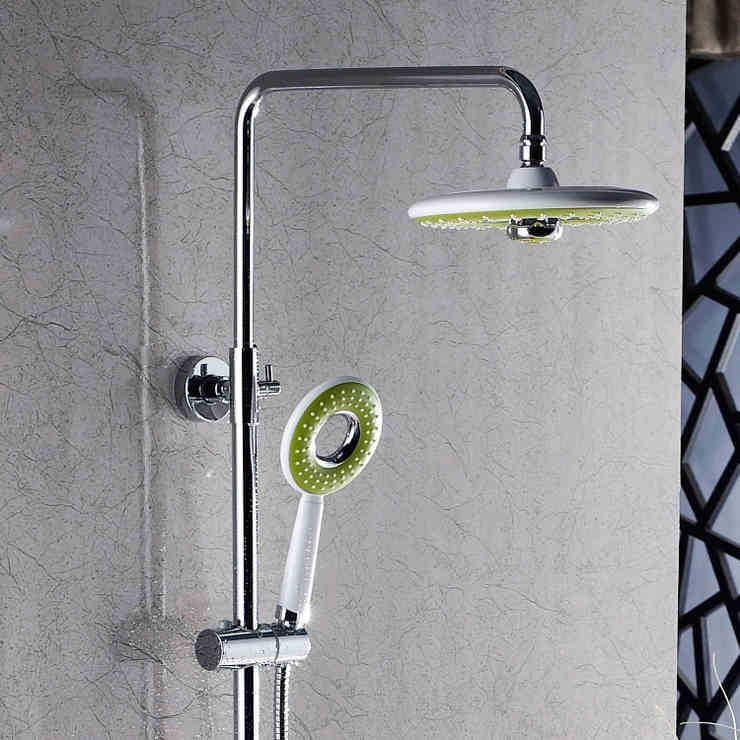 Types Of Shower Heads.2019 Multifunctional Sbathroom Hower Nozzle Ring Type Plastic Single Shower Head With Top Sprayer From Rosaling 58 96 Dhgate Com