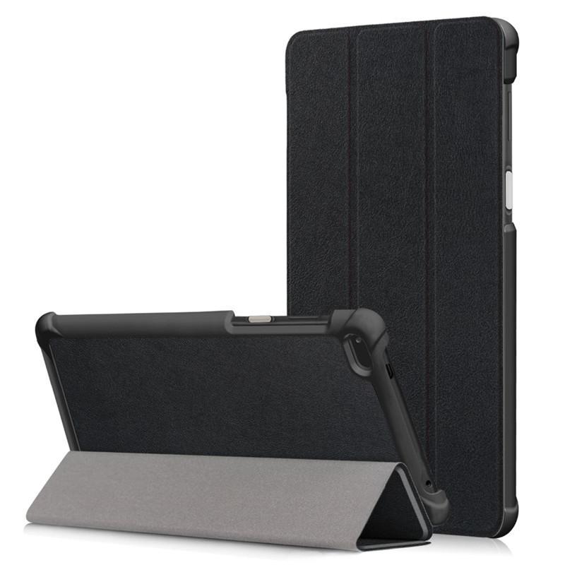 Für Lenovo Tab4 7 TB-7504F / X Tablet-Fall für Lenovo Tab 7.0 '' Tablette-Leder-Abdeckung Folio magnetischen Standplatz