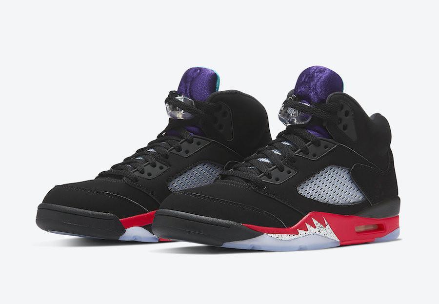 Jumpman 5s Scarpe Top 3 Black Fire Uva nera olio grigio di pallacanestro degli uomini con la scatola Top Quality 6s Scarpe Hare DMP Trainner Sport