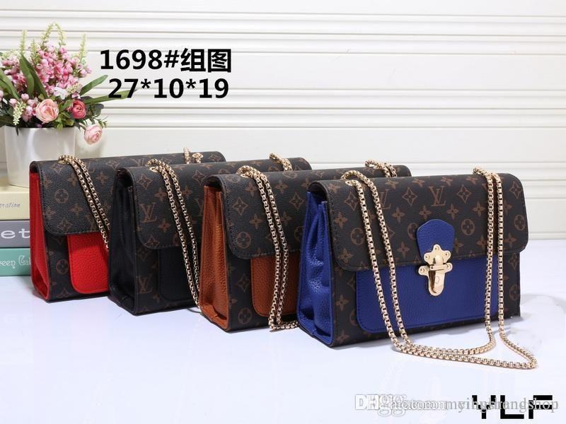 Venta caliente Luxurys marcas de hombro del bolso de las mujeres bolsos de escuela estudiante de moda bolsa de hombres libera el envío diseñadores Mochila carpetas del embrague 00236