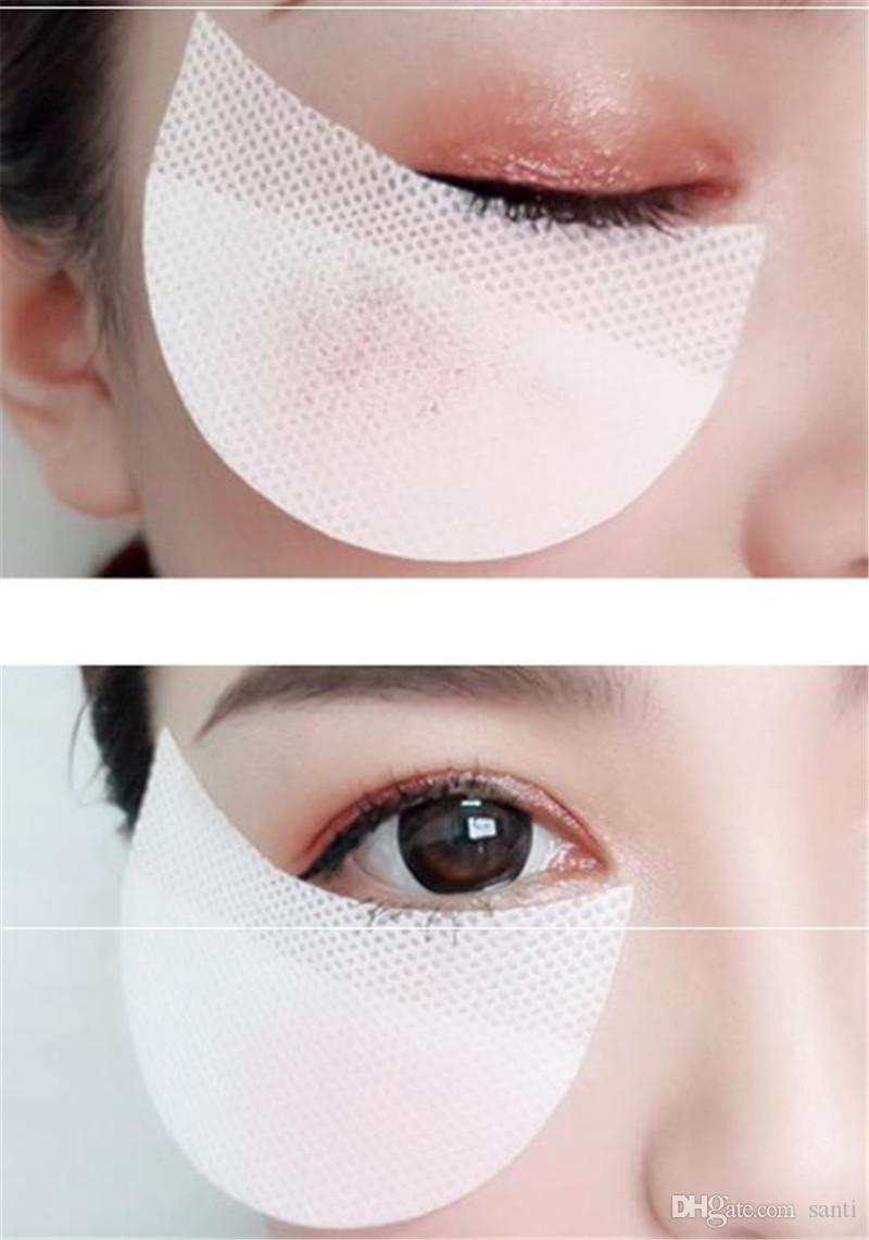 Hot Health Beauty 100 pcsEyeshadow Shields Under Eye Patches Disposable Eye Shadow Makeup Protector Stickers Pads Eyes Makeup Application