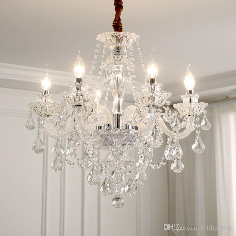 Modern Aydınlatma Avizeler Ev Dekoratörler Koleksiyon Işık Candelabros Kristal kolye chandellier Odası Lambaları Yatak Odası kolye Lambası Yemek