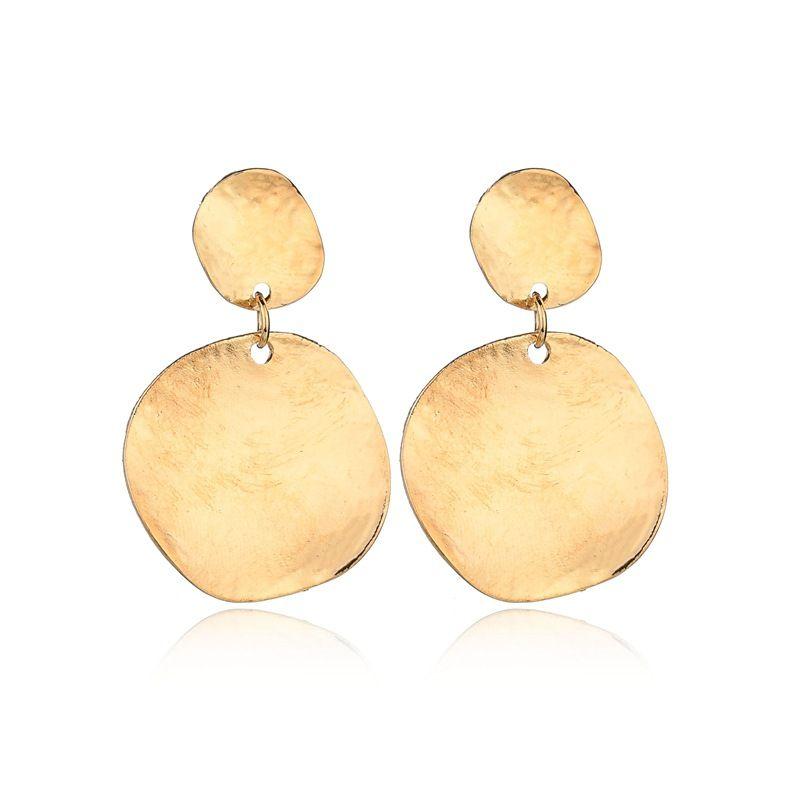 2019 Lotus Crystal Jacket Flower Stud Earrings For Women fashion Jewelry Double Sided Gold Silver Plated Earrings E2373
