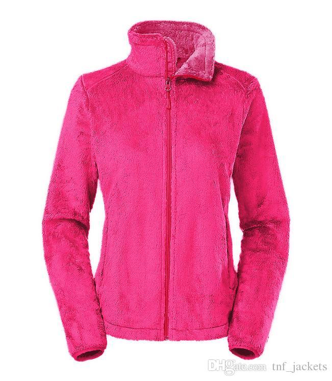 New North Winter Spring frauen Weiche Fleece Osito Jacken Mäntel Mode Lässig Marke Damen herren Kinder Ski Unten Warme Mäntel S-XXL Schwarz Rosa