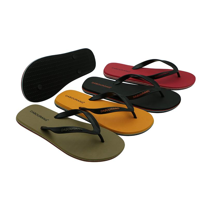 Men Beach Flip Flops Summer Fashion Shoes Casual Slippers Flat Sandals Male Footwear Indoor Outdoor Poor Bathroom Waterproof