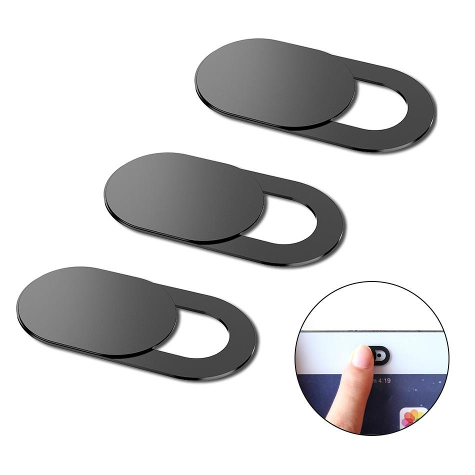 cuuwe Webcam cubierta del obturador imán corredera de plástico para el teléfono portátil Web PC Para tablilla de la pista móvil de la cámara de Privacidad de teléfono Etiqueta