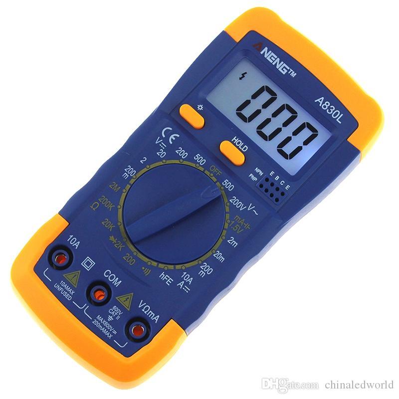 A830L Digital Multimeter LCD Meter Voltmeter Handheld AC DC Digital Multimeter