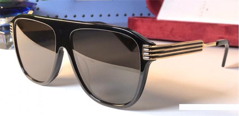 kutusuyla Yeni moda tasarımcısı KADIN güneş gözlüğü 0587 kare kare en kaliteli basit popüler yaz tarzı UV400 mercek koruma gözlük