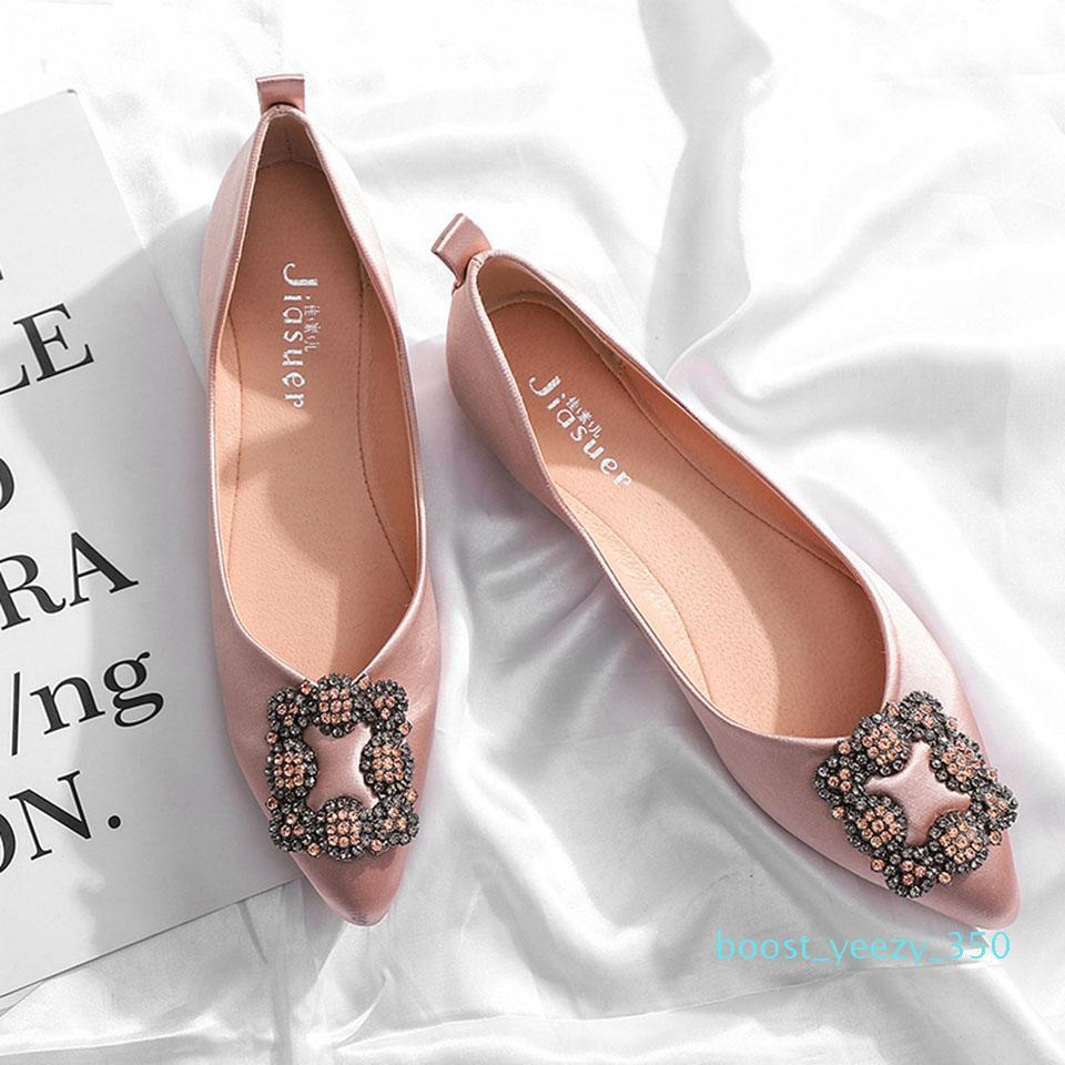 Nuovo Fashoin Shoe Woman signore piana femminile Trend sottile piattaforma Scarpe a punta pattini casuali della pelle scamosciata Joker mocassino-Gommino B35