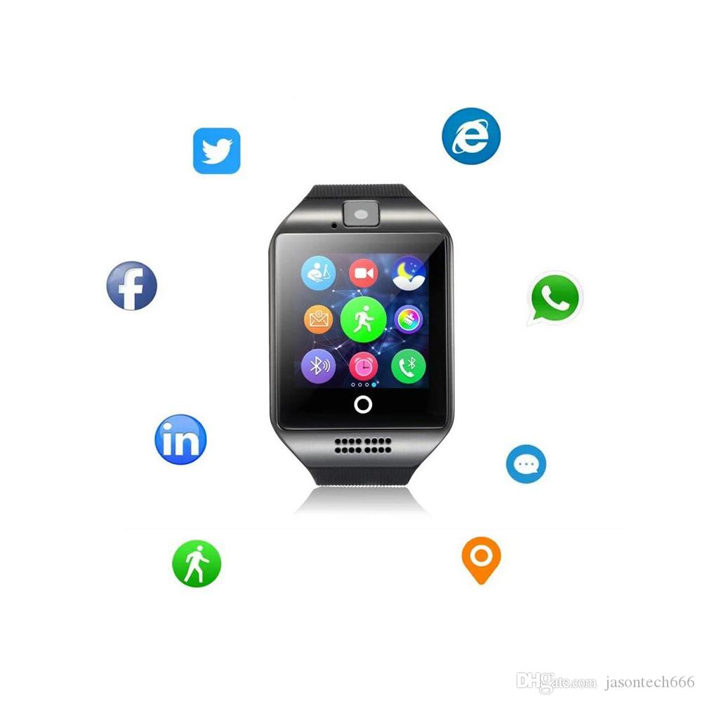 Wireless Bluetooth NFC Smart Watch for Android Phones Smartwatch with Camera Original Support TF Sim Card