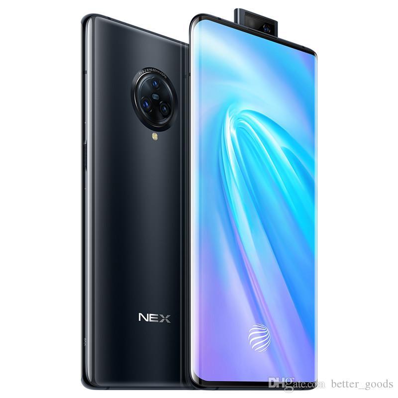 "Original Vivo Nex 3 4G LTE Cell Phone 8GB RAM 128GB ROM Snapdragon 855 Plus Octa Core 64.0MP AI NFC Android 6.89"" Full Screen Fingerprint ID 4500mAh Smart Mobile Phone"