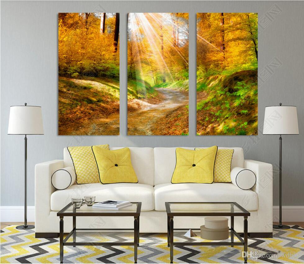 3 차원 벽지 사용자 정의 사진 벽화 프리 북유럽 간단한 신선한 숲 풍경 우드 벽 침실 벽화 벽지 벽 3 d