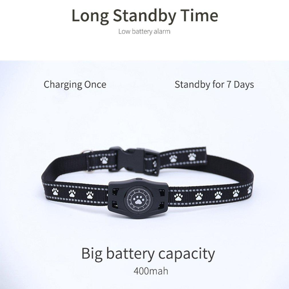 D40 Waterproof Pet Collar GPS GSM GPRS Tracker Real Time Locator For Dogs Free APP Track Alarm Device