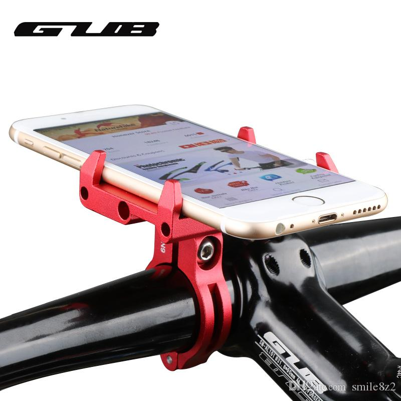 GUB G-85 G85 Adjustable Universal Bike Phone Stand For 3.5-6.2inch Smartphone Aluminum Bicycle Handlebar Holder Mount Bracket