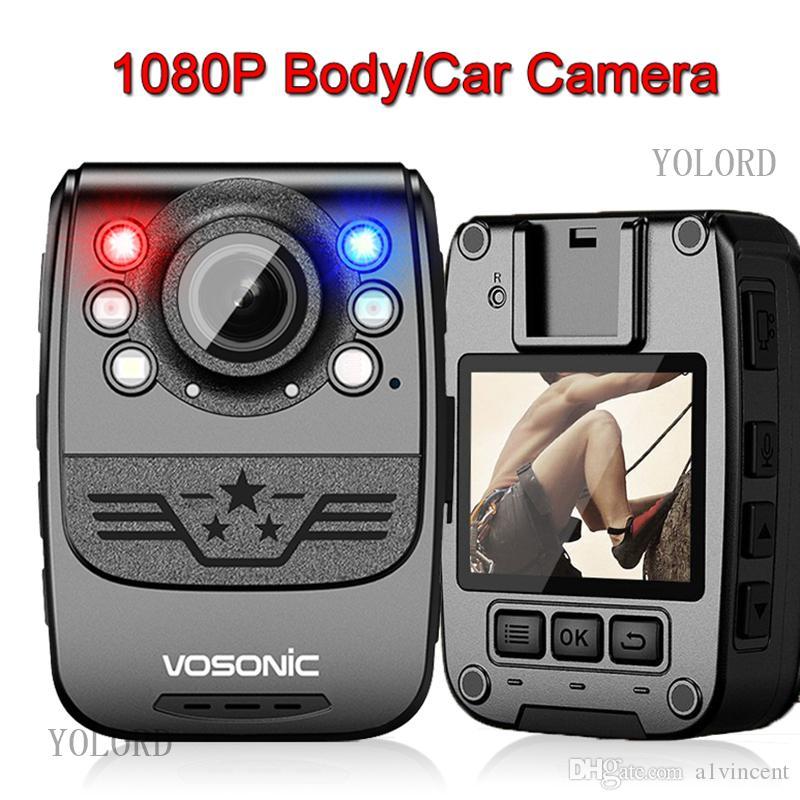 كامل HD 1080P 34MP 10hrs وقت طويل للتسجيل الحرس الآمن جسم الكاميرا كاميرا أمن الشرطة للماء البسيطة كاميرات الفيديو DVR مسجل فيديو صوت