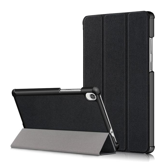Custer Tri-fold Tablet Holder Ultra Slim Case Compatible for Lenovo Tab M8 HD TB-8505F/X FHD TB-8705F/N Fold Cover with Stand Function