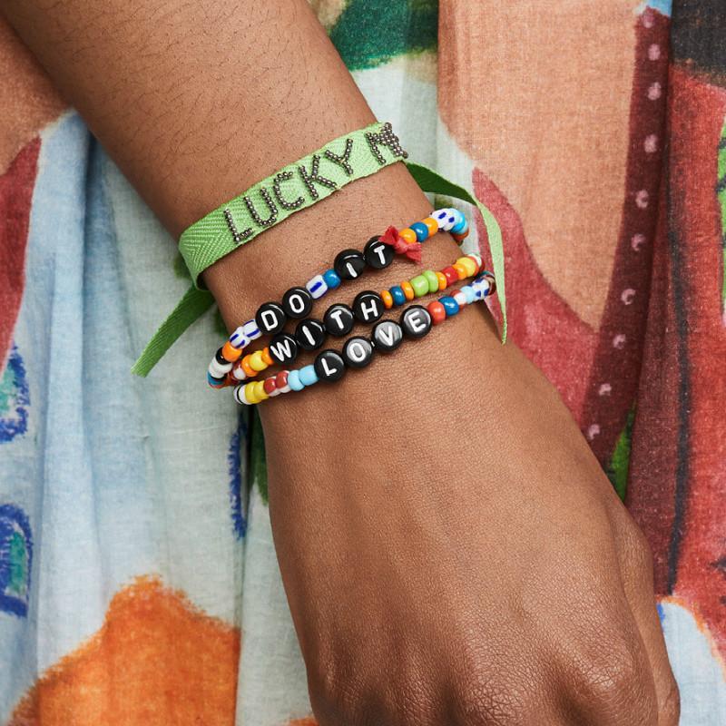 DIY Brief Perlen Armbänder Handgemachte Armband Set Infinity Schmuck Für Frauen Männer Glück Freundschaft Armband Modeschmuck