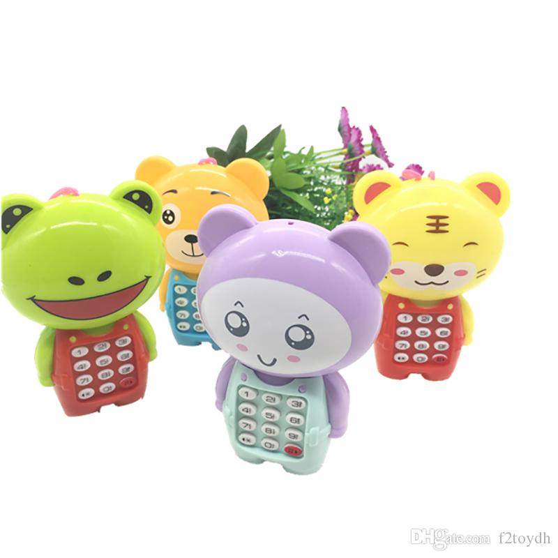 Model Music Mobile phone Simulation plastic CellPhone Animal Electric Toy