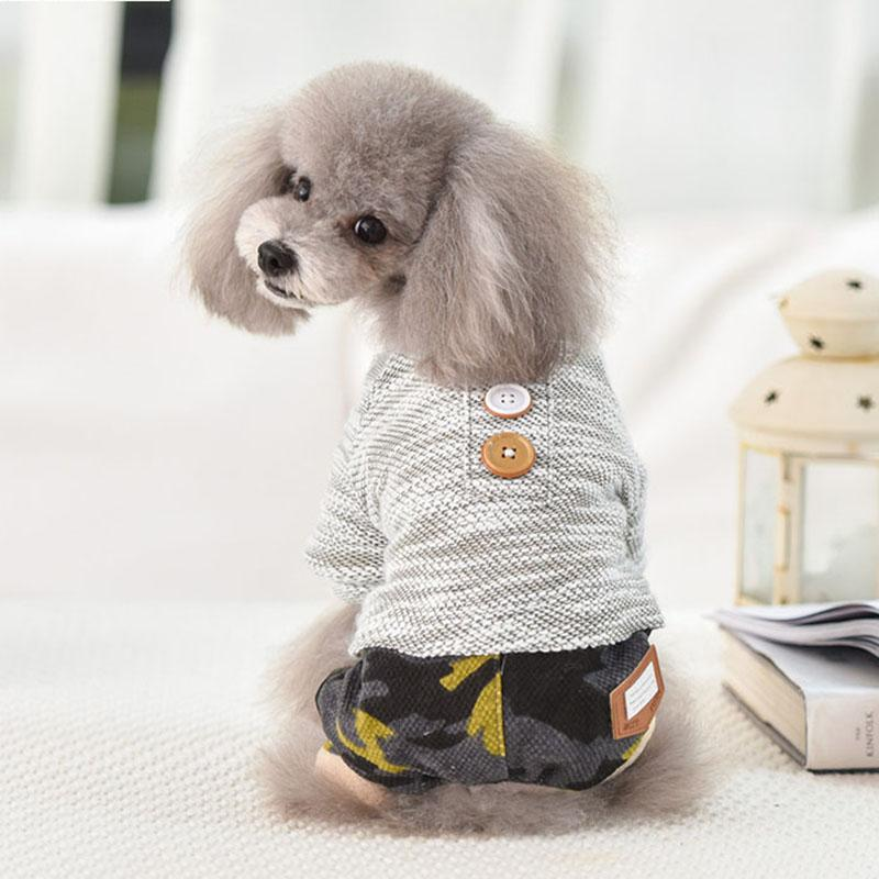 El gato del perro caliente de la capa de la chaqueta perrito del paño grueso y suave del mono con capucha para mascotas ropa de invierno para gatos pequeños perros