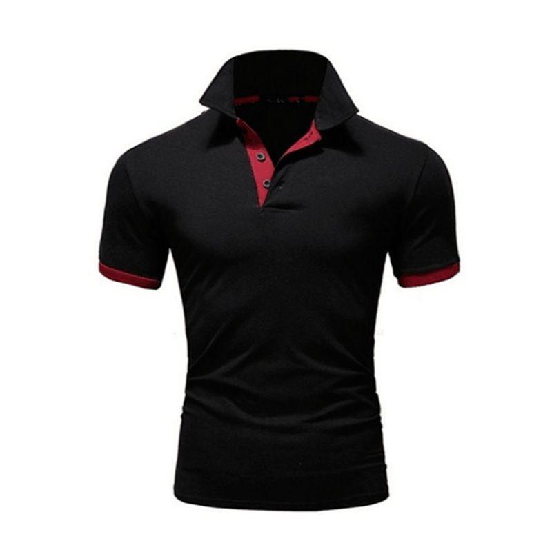Para hombre del diseñador de moda Polos 2020 del nuevo del verano de los hombres Marca Polos transpirable delgado manga corta camiseta 10 de los colores del tamaño S-5XL