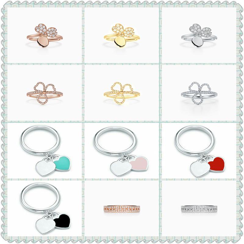 SHINETUNG S925 Серебряное кольцо, Бумажный цветок двойной форме сердца, высокого QualityWith, День Святого Валентина подарок, женщины ювелирные изделия