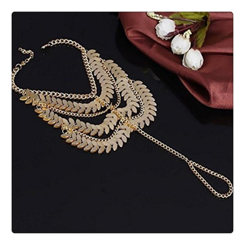 Fashion Female Anklets Barefoot Foot Jewelry Lady Charming Coin Chains Bracelet Foot Jewelry Sandal Beach Anklets