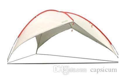 BLUEFIELD Grande tenda da sole Tenda da sole Tenda da spiaggia Tenda da spiaggia Telo da campeggio Tarp Campeggio Picnic Pergola Ombrellone Gazebo