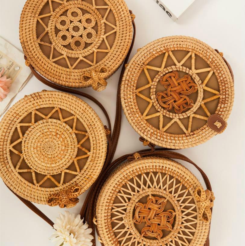 Diseñador de las mujeres del bolso de Crossbody Excelente manera de la calidad de mano de diseño de bambú que teje bolsos de compras del monedero del bolso Messenger Bag # u2ns