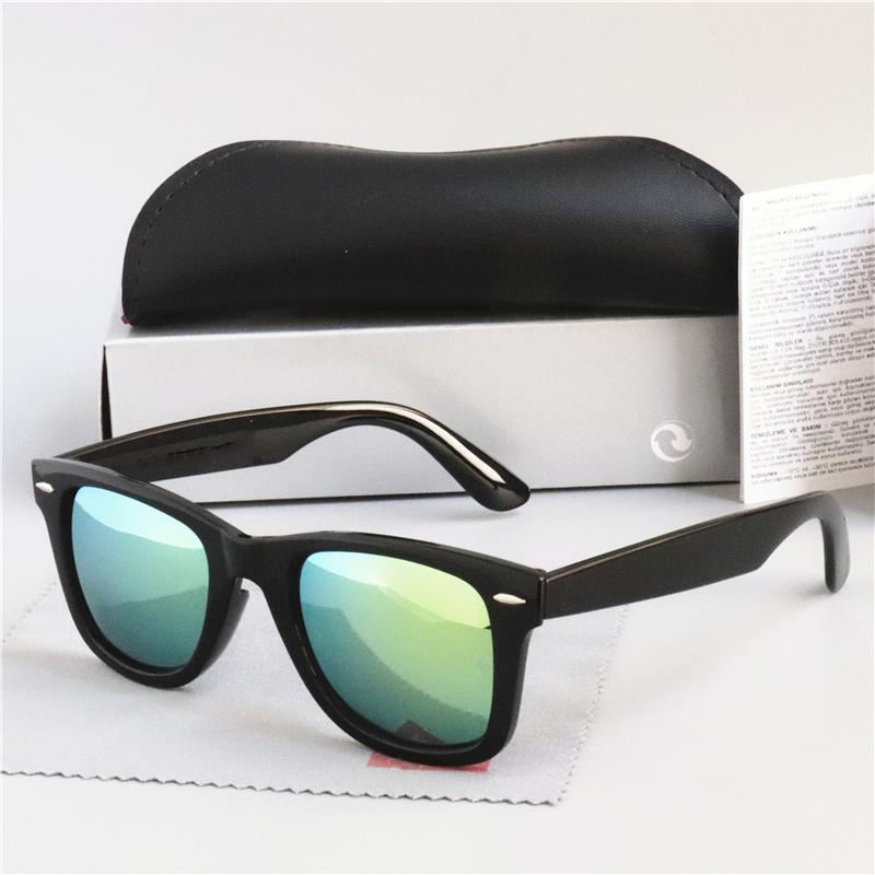 حار بيع تصميم العلامة التجارية النظارات الشمسية خمر الطيار نظارات شمسية الفرقة الاستقطاب UV400 الرجال نظارات شمسية نسائية نظارات بولارويد عدسة 2140