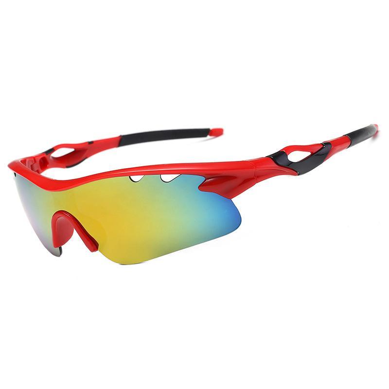 도매 10 색 고품질 유니섹스 승마 선글라스 야외 스포츠 UV400 남자 여성을위한 고글 사이클링 고글