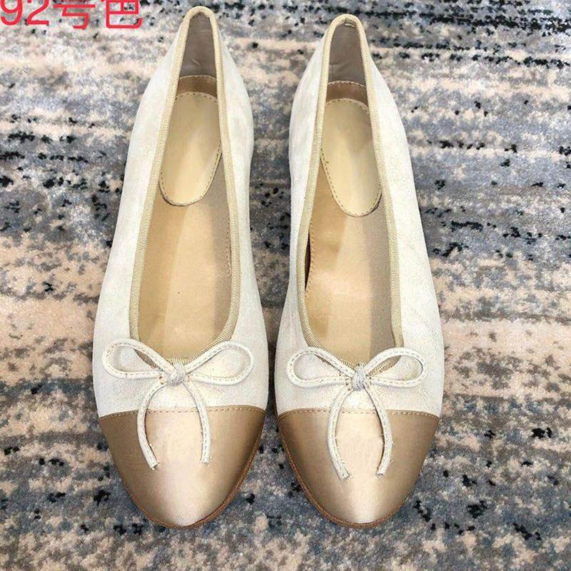 scarpe da donna di design di lusso appartamenti ultime scarpe da designer di design di moda scarpe da donna di design di lusso plus size 35-42 modello JSQP04