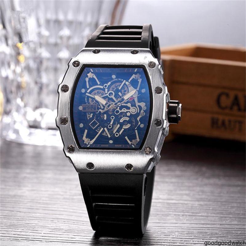 goowa Мужчины или женщины Череп спортивные кварцевые часы Мода высокого качества спортивные часы оптом люкс Бесплатная доставка хорошего способа Skeleton часы