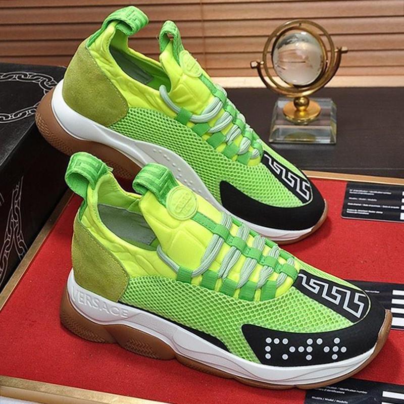 Sapatos Masculinos Cruz Chainer Sneakers Zapatos Hombre respirável Drop Ship malha Sapatos Masculinos Moda Tipo Chaussures Hommes Lace -Up sola de borracha