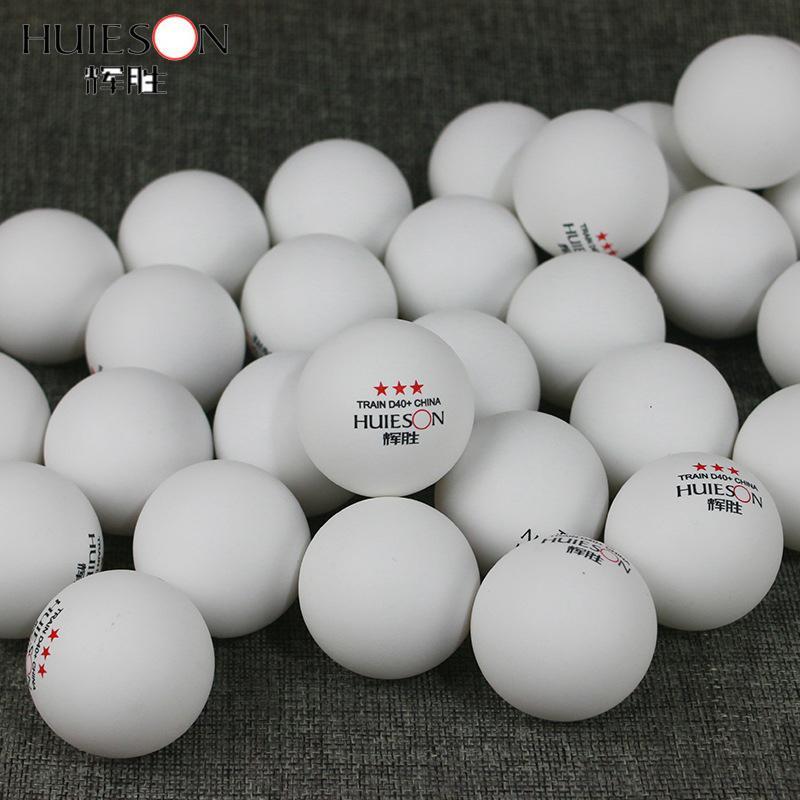 Lot de 30 balles de ping pong 3 étoiles diamètres 40 mm 2 coloris au choix