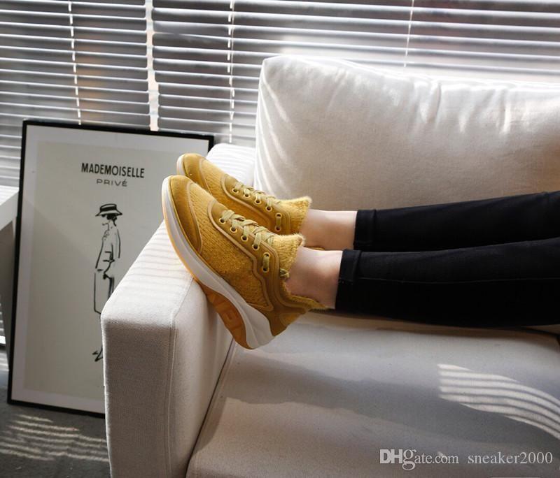 2020 Designer de Luxo Marca Flats sapatos casuais sapatos para homens e mulheres amantes de couro genuíno Sneakers zh19092701