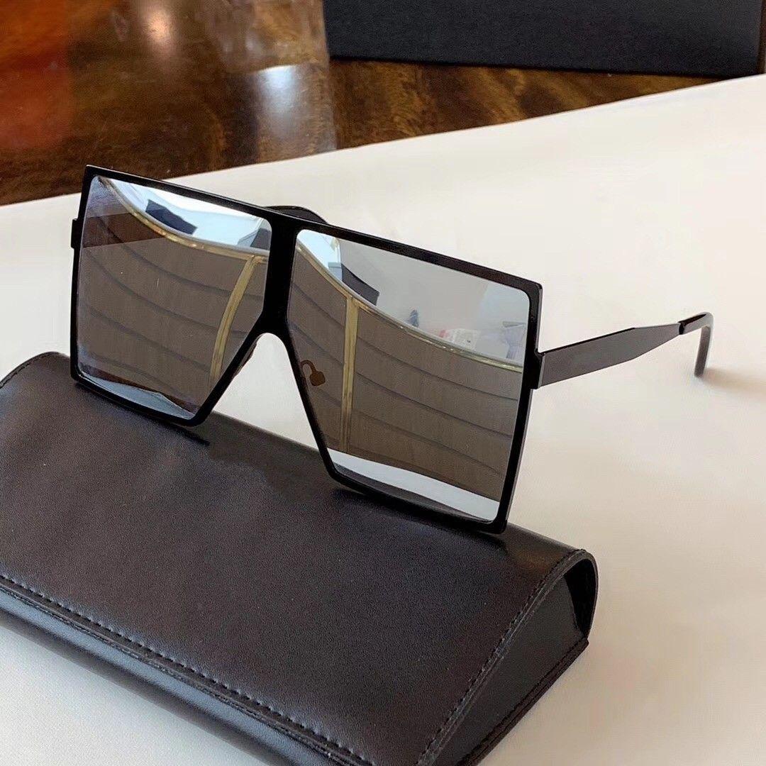 182 النظارات الشمسية أزياء النساء الفاخرة العلامة التجارية deisnger شعبية الإطار الكامل uv400 عدسة الصيف نمط مربع كبير الإطار أعلى جودة تأتي مع القضية