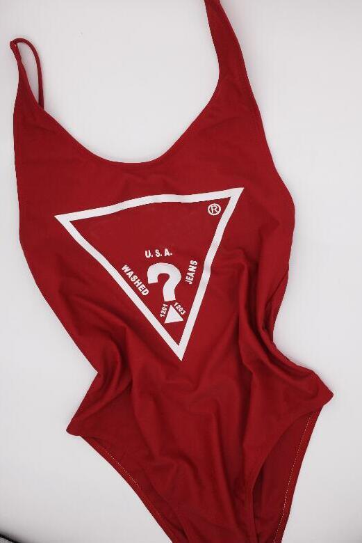2020 Sexy récent monopièce bikini pour femmes maillot de bain avec des lettres d'été Maillots de bain Mode Lady Backless Costumes bain 5 Styles-XL en option