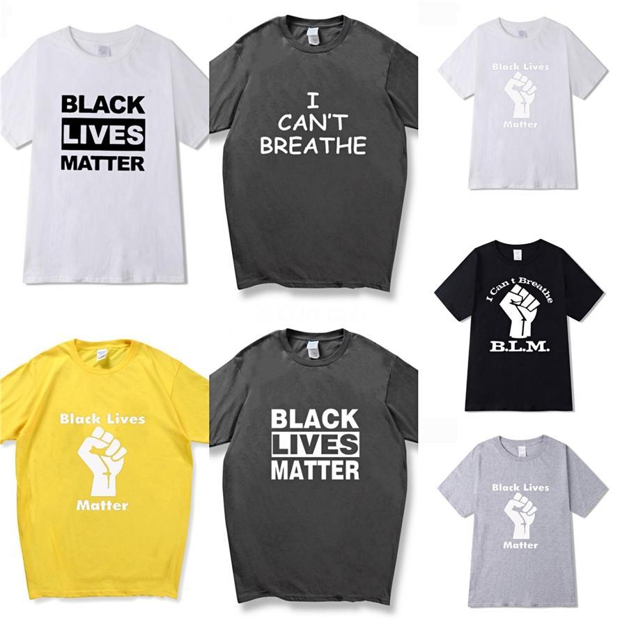 Я не могу дышать! Usa тавра тенниски лето 20SS Logo Relief Box Top Tee Brand печать Дизайнерской футболку с коротким рукавом белого цветом # 744