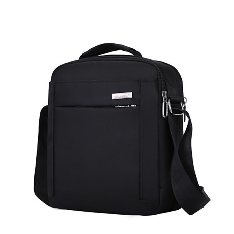 Heiße Verkaufs-Männer Reisetaschen Coole Taschen Mode-Aktenkoffer Mann-Qualität Bolsa Masculina Schulter Schwarz