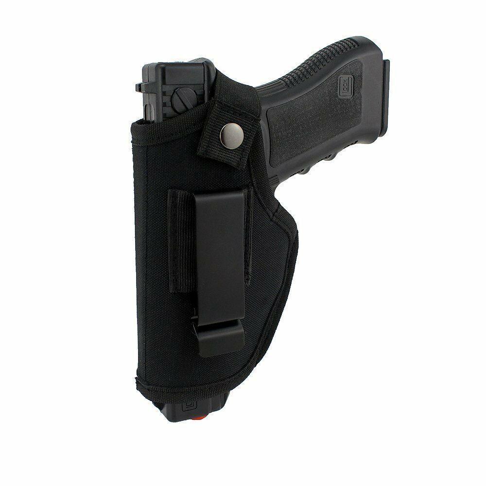 Ininfluente IWB OWB nascosto Carry Pistol Holster con clip in metallo misura la maggior parte della pistola