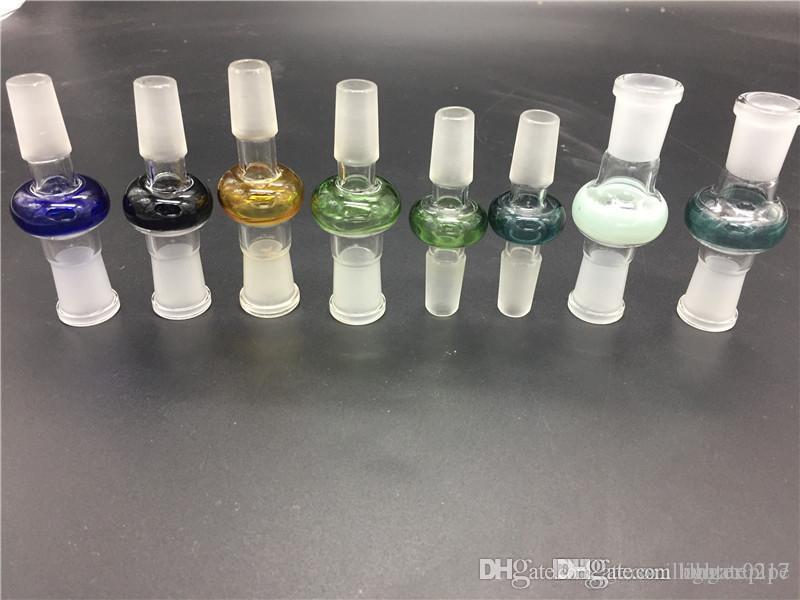 10pcs adaptateur verre 14.4mm18.8 mâle à la femelle 18mm 14mm joint femelle verre mâle convertisseur bong joint adaptateur pour Bong en verre