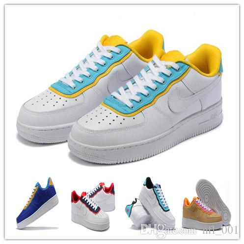 2020 2020 &NbspNIKE Air Force 1 07 Se Low Running Shoes Man Wome AF1 FORCE1 Sport Walking Run Sneakers Basketball FORCES Skate Shoes 36 45 From