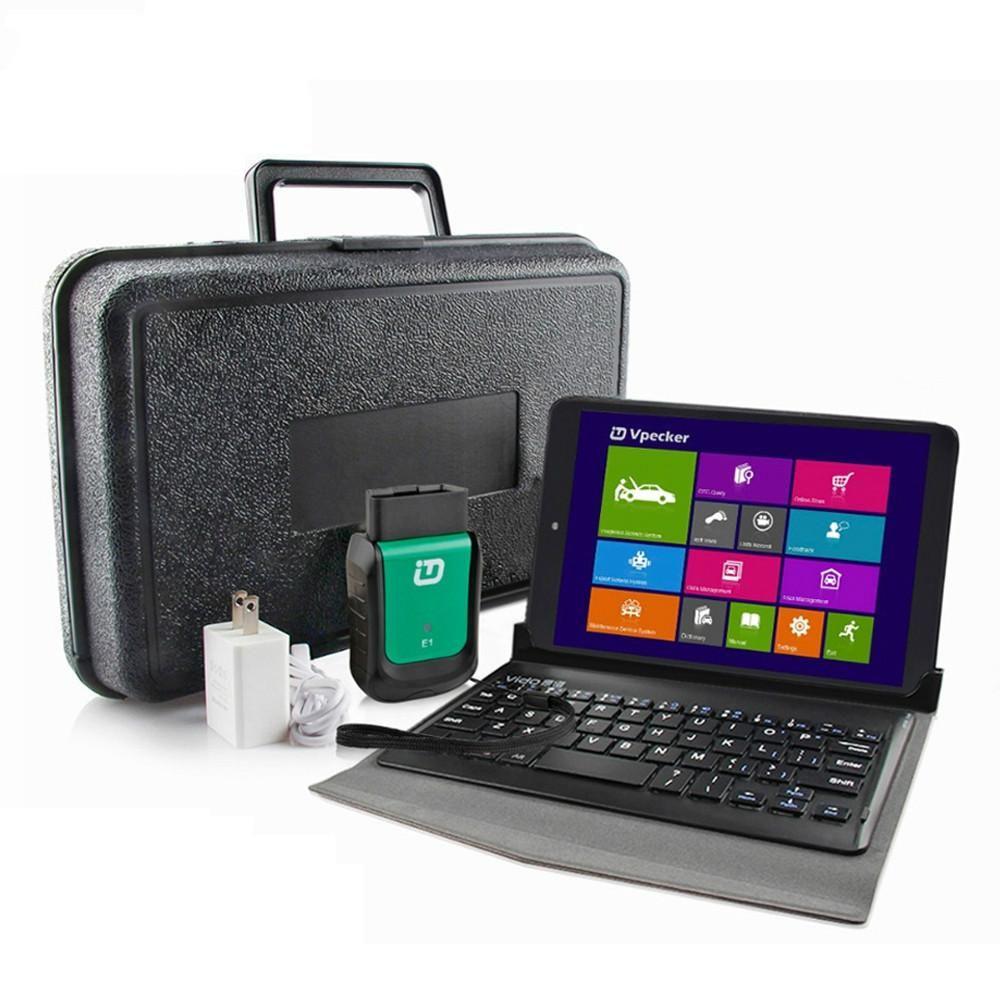 Nuovi Vpecker Easydiag E1 OBD2 Wifi OBD 2 scanner con Vpecker Tablet ODB2 completa del sistema diagnostico auto Scanner Tool