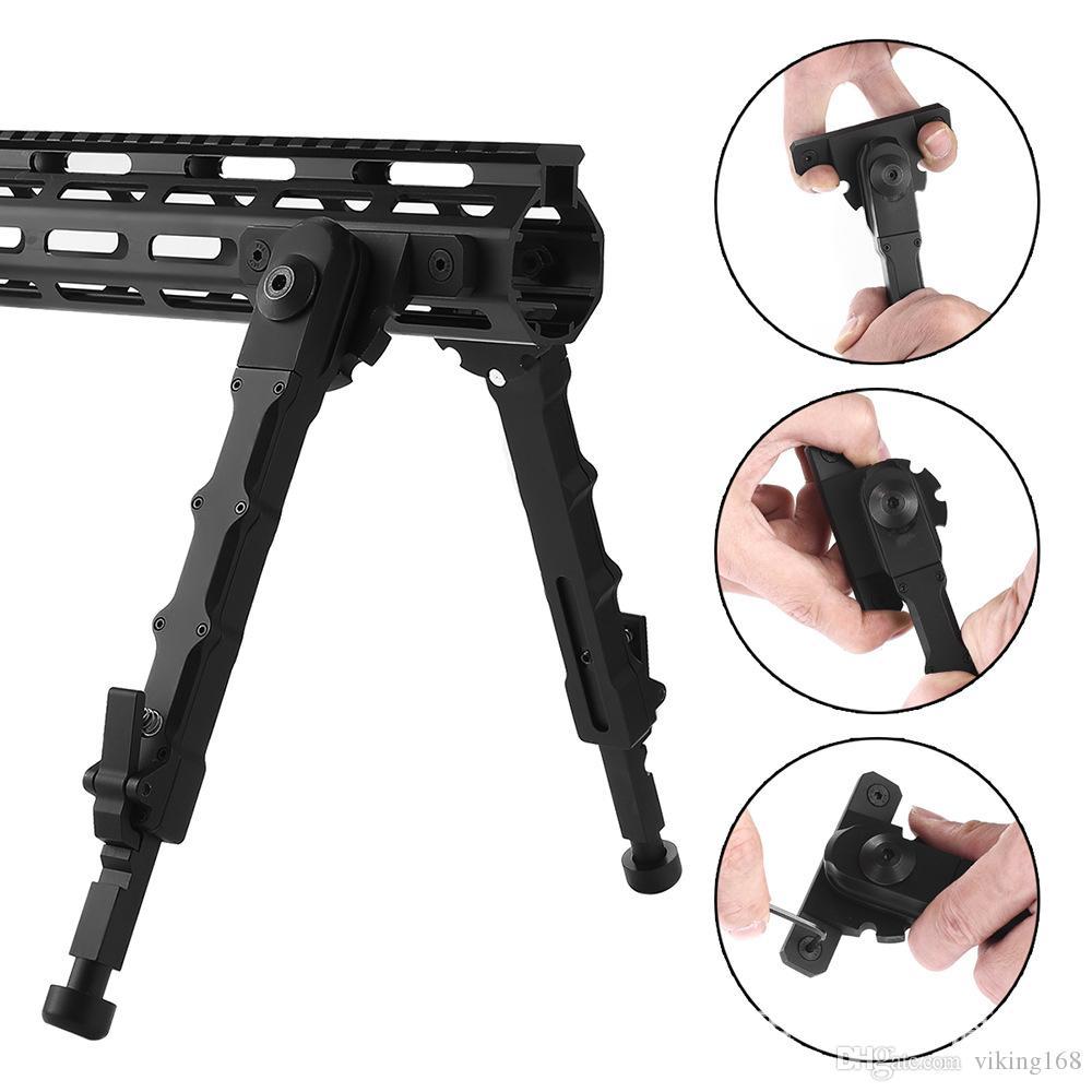 giocattoli pistola bipiede giocattoli tattici bipiedi da caccia Guardamani con attacco M-LOK Gambe allungabili