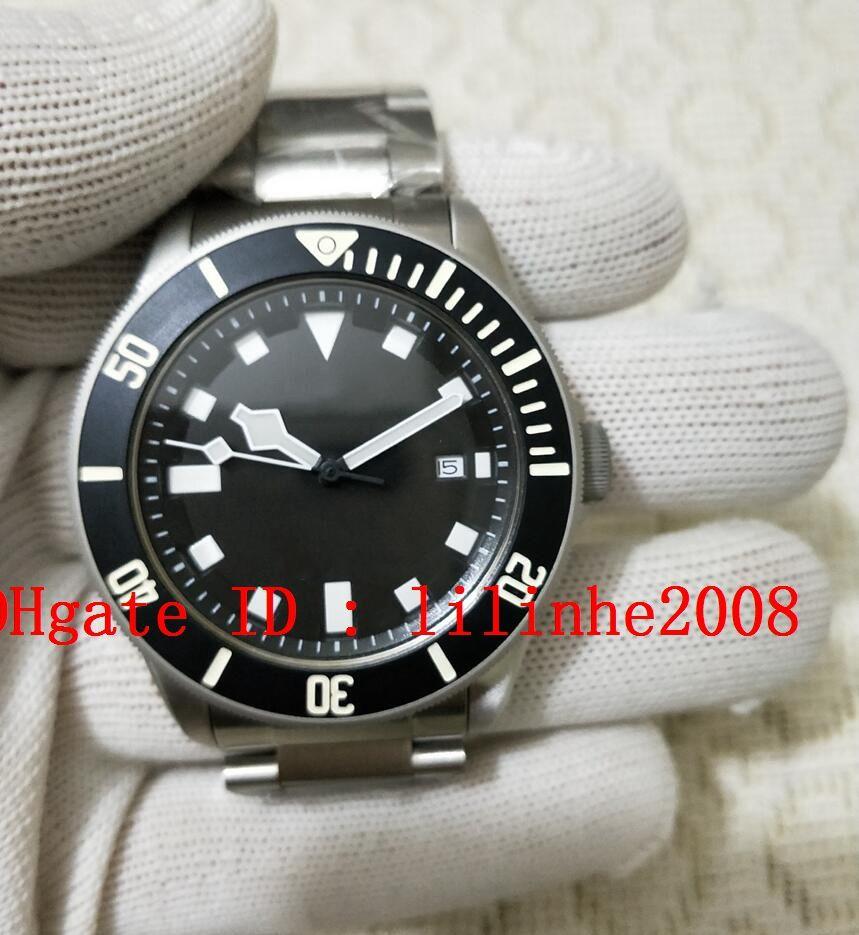 relógio 4 dos homens estilo Relógios de pulso máquinas automáticas 40MM Mens mostrador preto relógios data Calendar aço correia de pulso