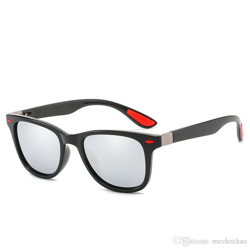 Новые мужские женские дизайнерские солнцезащитные очки марки мужские поляризованные солнцезащитные очки женские дизайнерские квадратные солнцезащитные очки высшего качества, бесплатная доставка 9